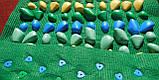 Массажный (ортопедический) коврик дорожка для детей с камнями Onhillsport 100*40см (MS-1215), фото 6