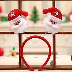 Обруч новогодний с Дедом Морозом