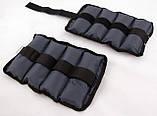 Утяжелители для рук и ног 3кг 2шт OSPORT Gray (FI-0120), фото 3