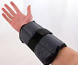 Утяжелители для рук и ног 3кг 2шт OSPORT Gray (FI-0120), фото 8