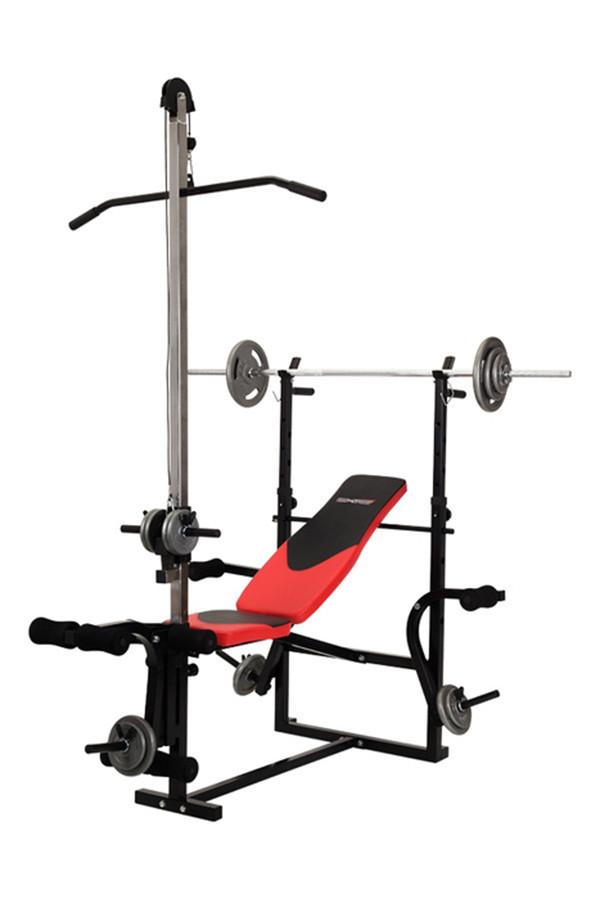 Скамья для тренировок с верхней тягой Hop-Sport (HS-1070B-1)
