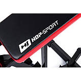 Скамья для тренировок с регулируемым наклоном Hop-Sport (HS-1030), фото 6
