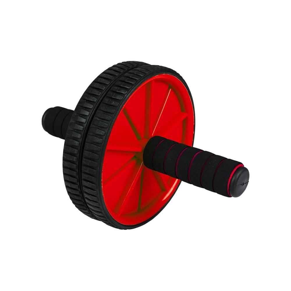 Подвійний гімнастичний ролик для преса Hop-Sport (HS-ROLL-2)