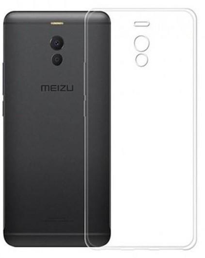 Lux силиконовый чехол для Meizu M6 Note прозрачный (Clear)