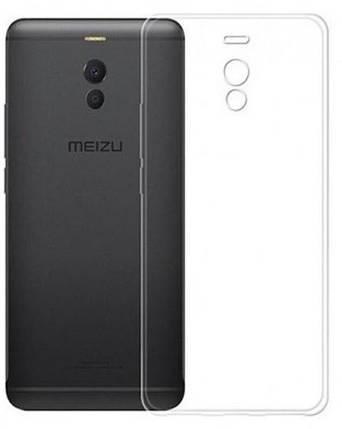 Lux силиконовый чехол для Meizu M6 Note прозрачный (Clear), фото 2
