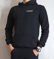 Толстовка тепла чоловіча з капюшоном тканина Туреччина, фото 2