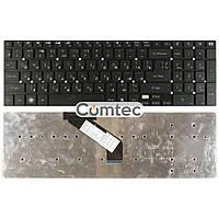 Клавиатура для ноутбука Acer Gateway (NV55) черный, (без фрейма), Русская (горизонтальный энтер), фото 1