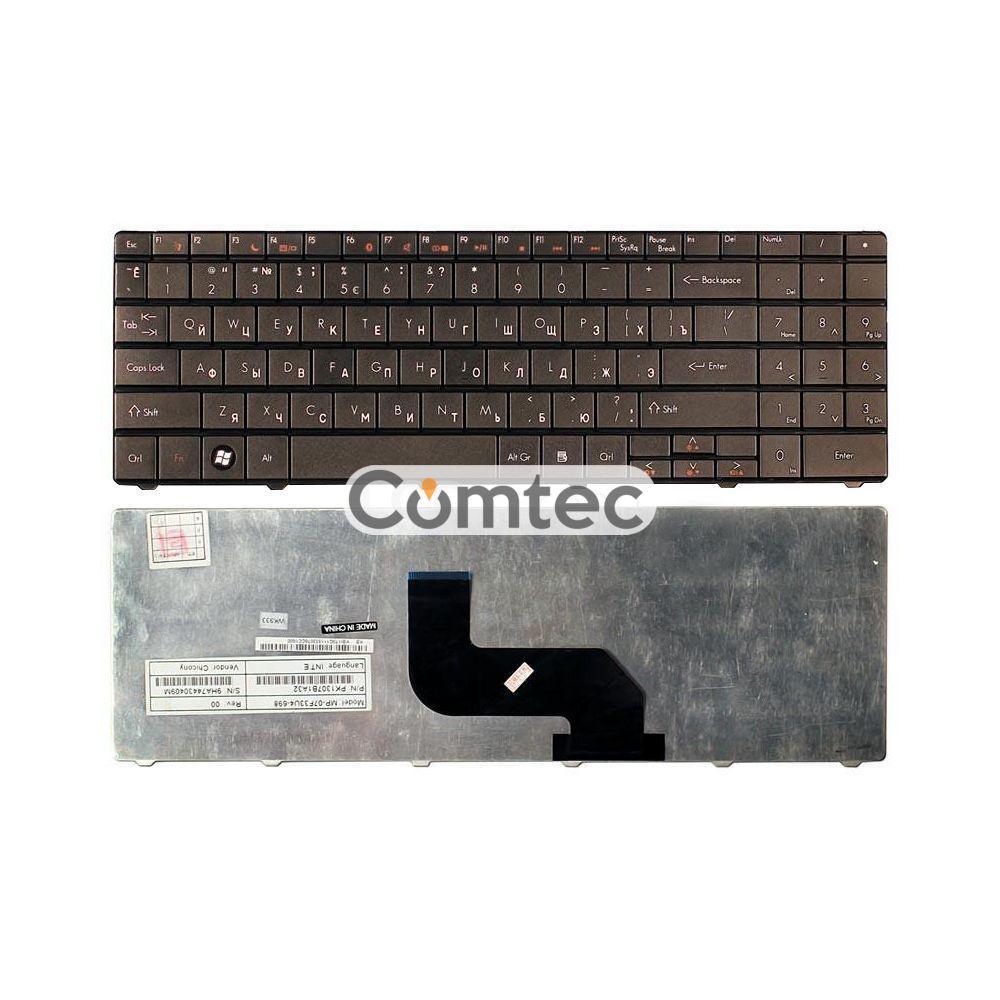 Клавиатура для ноутбука Acer Packard Bell (TJ61) черный RU