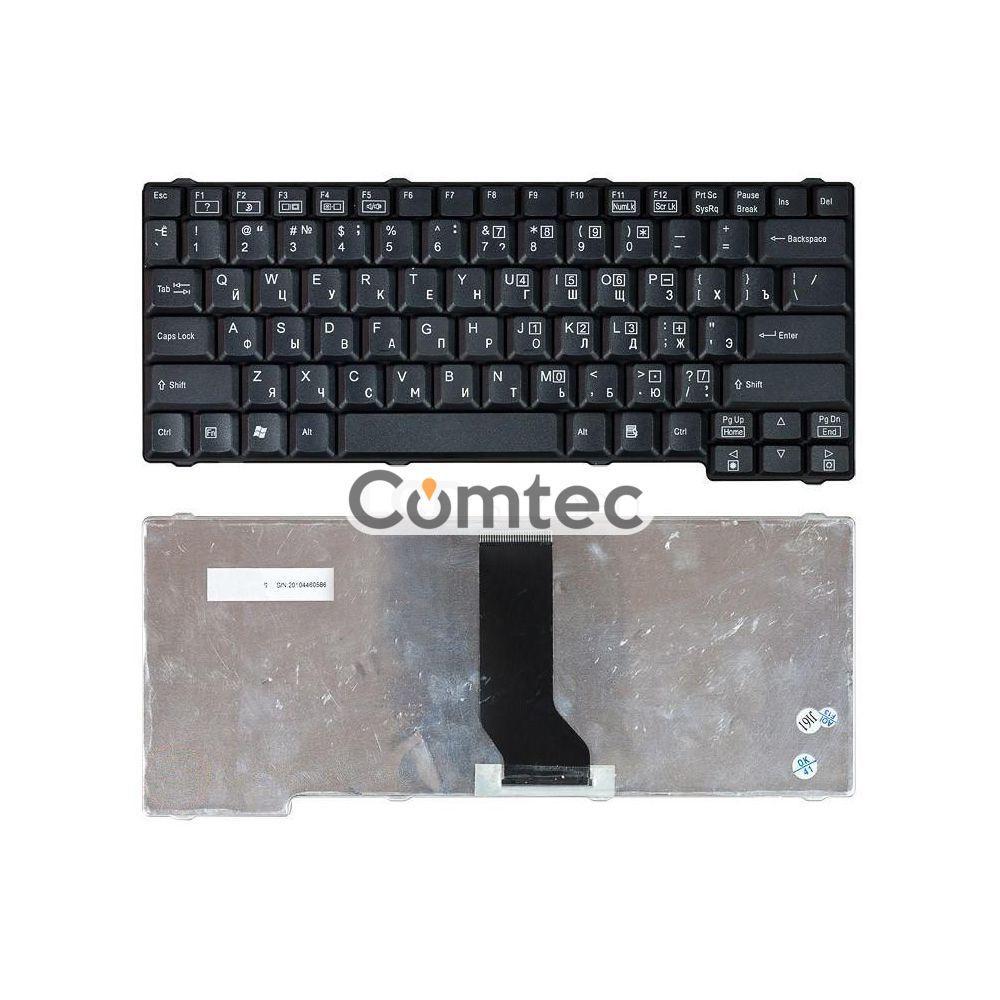 Клавиатура для ноутбука Acer TravelMate (200, 210, 220, 230, 240) черный, Русская