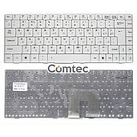 Клавиатура для ноутбука Asus (U3, F6, F9) белый, Русская (вертикальный энтер), фото 1