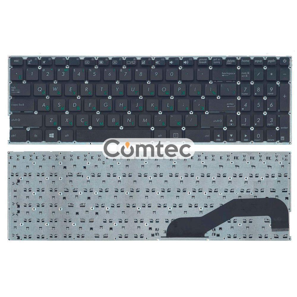 Клавиатура для ноутбука Asus (X540) черный, (без фрейма) RU
