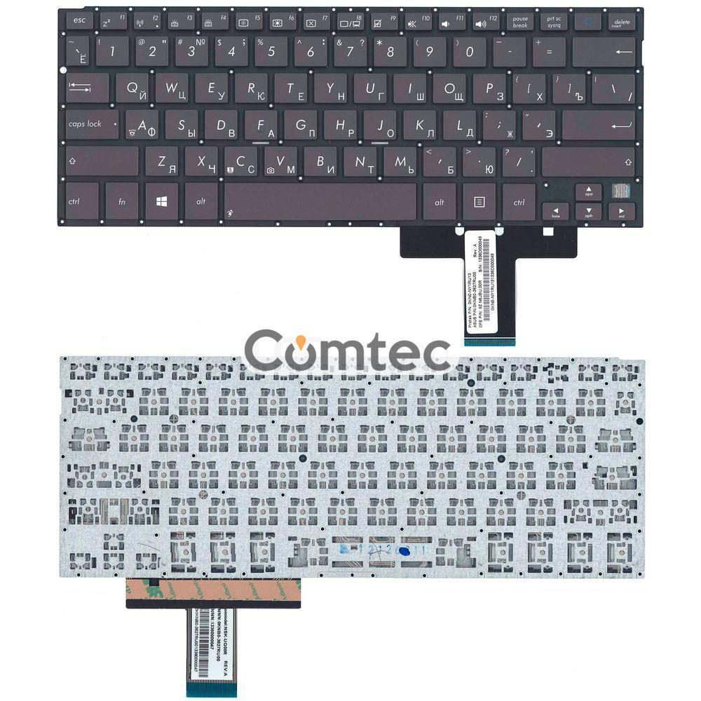 Клавиатура для ноутбука Asus Transformer Book (TX300) черный, (без фрейма), Русская, фото 1