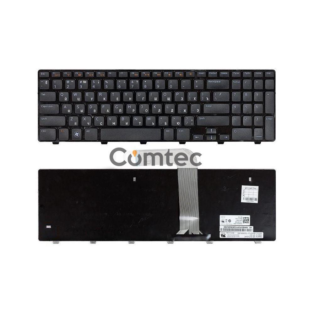 Клавиатура для ноутбука Dell Inspiron (M5110, M511R, N5110) черный, Русская, фото 1