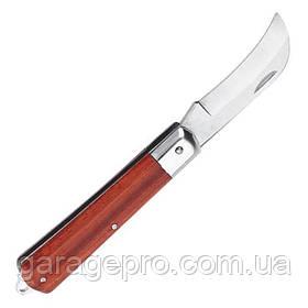 Нож электрика складной изогнутый INTERTOOL HT-0561
