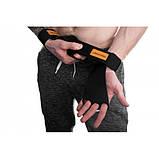 Гімнастичні накладки для турніка, на гриф шкіряні Onhillsport Розмір M (OS-0380), фото 2