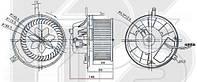 Вентилятор салона Audi