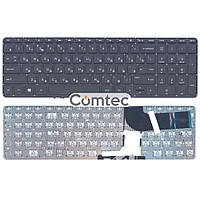 Клавиатура для ноутбука HP Pavilion (15-P) с подсветкой, черный, (без фрейма), Русская, фото 1
