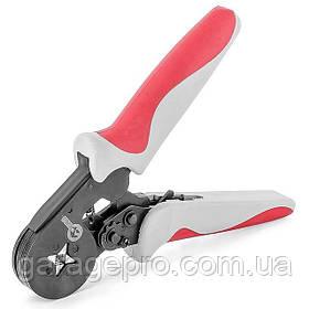 Инструмент для обжима трубчатых наконечников INTERTOOL HT-7051