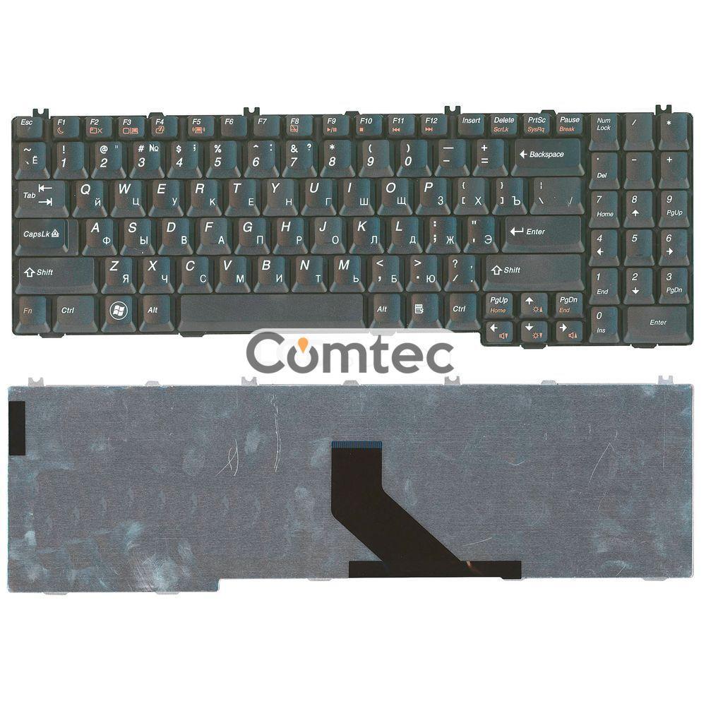 Клавиатура для ноутбука Lenovo (G550) черный, Русская