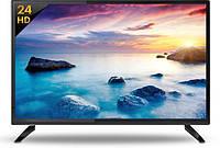 """Телевизор LED 24""""  SLIM Samsung Full HD Slim, встроенный Т2,  Реплика, Черный"""