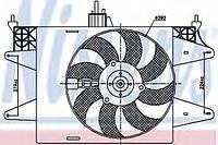 Вентилятор радиатора Fiat Doblo (01-)