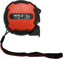 Рулетка Yato с нейлоновым покрытием 5 м x 19 мм (YT-71056)