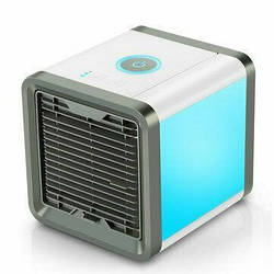Мобильный Кондиционер Cool Down, портативный, 7 режимов подсветки, белый