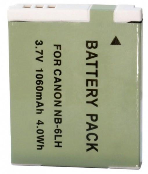 Аккумулятор (батарея) EXTRADIGITAL Canon NB-6LH 1060mAh