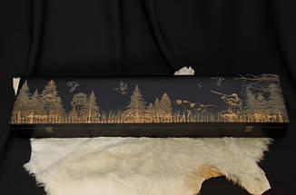 """Статусний подарунок чоловікові - набір для шашлику """"Huntsman люкс"""" у футлярі з дерева, фото 3"""