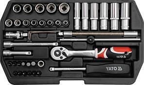 Набор торцевых головок Yato YT-1448