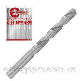 Сверло по металлу HSS INTERTOOL SD-5015