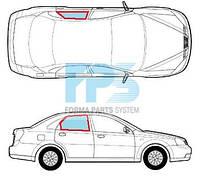 Боковое стекло двери правое заднее Chevrolet LACETTI 2003 -2013