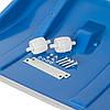 Ковш для уборки снега 760*420 мм, ручка 115 мм синий INTERTOOL FT-2094, фото 5