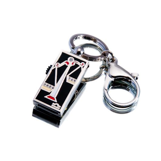 """Ювелирный флеш-накопитель """"Весы"""", 32Гб, серебристый цвет (03201B32ГБ)"""