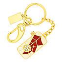 """Ювелирный флеш-накопитель """"Паутина"""", 64Гб, золотистый цвет (038964ГБ), фото 2"""