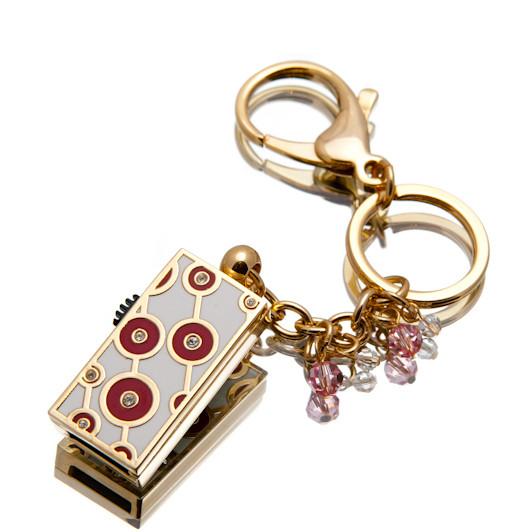 """Ювелирный флеш-накопитель """"Кольца Удачи"""", 16Гб, красный цвет (03155A16ГБ)"""