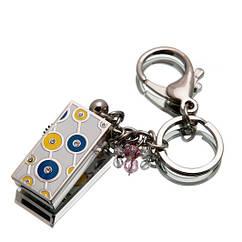 """Ювелирный флеш-накопитель """"Кольца Удачи"""", 16Гб, синий цвет (03155B16ГБ)"""