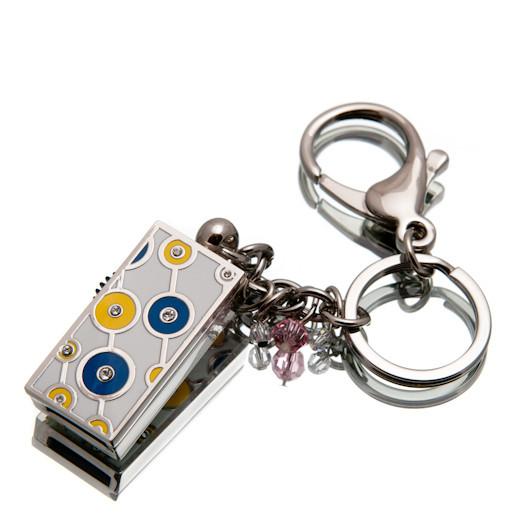 """Ювелирный флеш-накопитель """"Кольца Удачи"""", 64Гб, синий цвет (03155B64ГБ)"""
