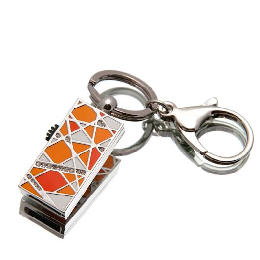 """Ювелирный флеш-накопитель """"Имидж"""", 32Гб, оранжевый цвет (03158A32ГБ)"""