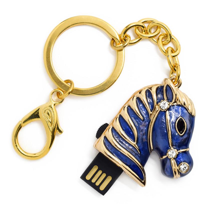 "Флешка ""USB Конь"" синий 64Гб (03164A-64-Гб), фото 1"