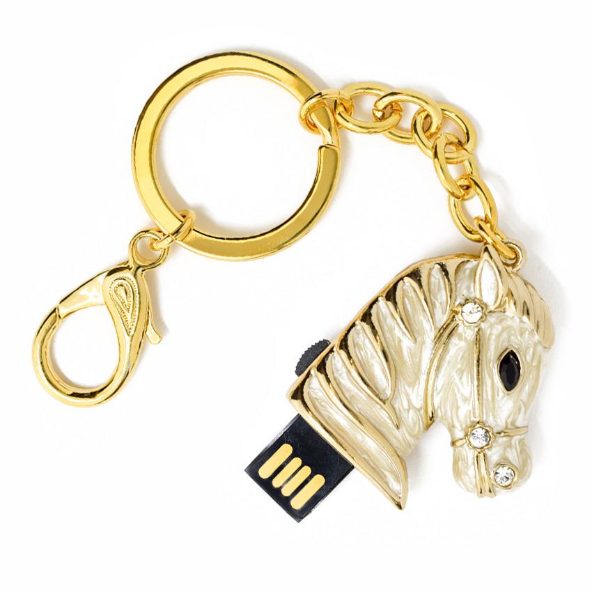 "Флешка ""USB Конь"" белый 64Гб (03164B-64-Гб)"
