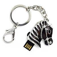 "Флешка ""USB Конь"" черный 16Гб (03164C-16-Гб), фото 1"