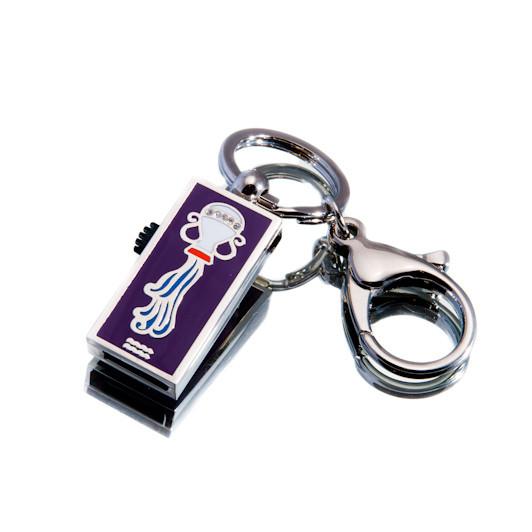 """Флешка """"USB Водолей"""" серебристый 32Гб (03205B-32-Гб)"""