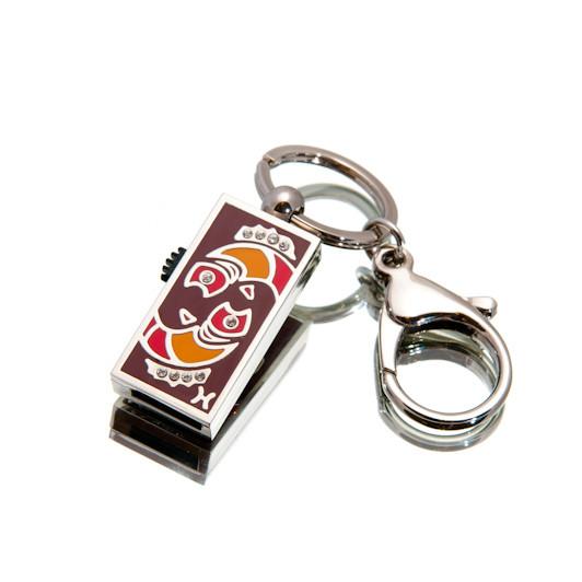"Флешка ""USB Рыбы"" серебристый 16Гб (03206B-16-Гб), фото 1"