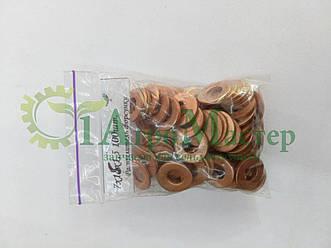 Шайба медная уплотнительная 7х15х1,5 Упаковка 100 шт.