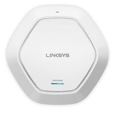 Точка доступа Linksys LAPAC1200C-EU CLOUD DUAL BAND WiFi ACCESS POINT with PoE+, AC1200