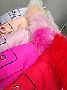 Детский зимний комбинезон на девочку Киса Размеры 80, фото 7