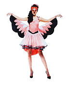 "F1-00479, Костюм маскарадный женский ""Фламинго"", , Розовый"