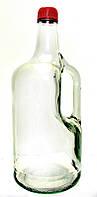 Бутылка стеклянная с ручкой Everglass для напитков 1750 мл.с крышкой и дозатором - рассеивателем.