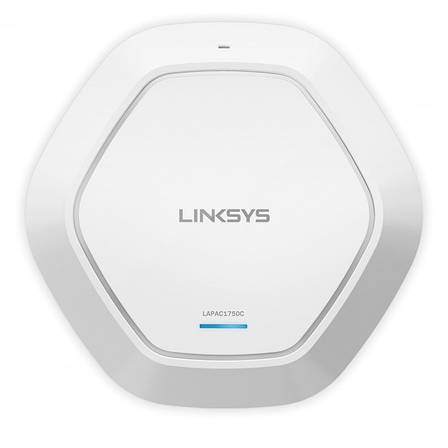 Точка доступа Linksys LAPAC1750C-EU CLOUD DUAL BAND WiFi ACCESS POINT with PoE+, AC1750, фото 2